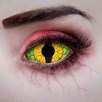 785-Dragon-Eye-Sclera-Kontaktlinse-22mm-Halloween-Kostuem-Special-Effekt